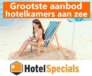hotelspecials aan zee banner